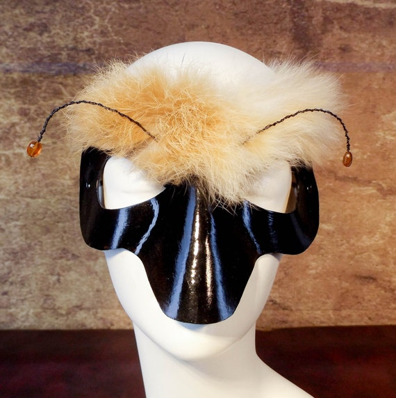 Bee Leather Mask