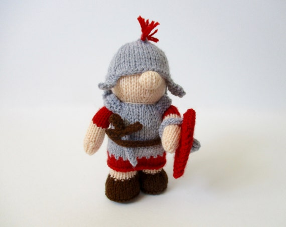 Antonius the Roman Soldier doll knitting pattern from ...