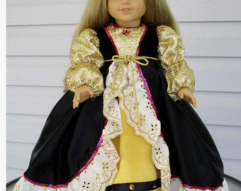 Rapunzel for 18 inch doll