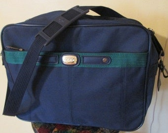 Vintage Jordache Carry On Bag.  Jordache Luggage.  Vintage Jordache Shoulder Bag.  Vintage Jordache Travel Bag.