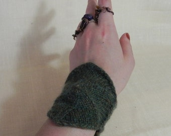 Green Hexagon Cuff