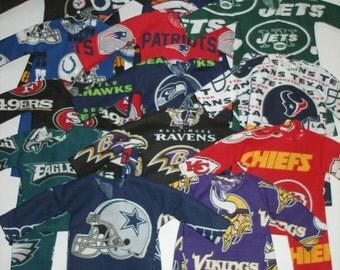 """Elf clothes (12"""")  - football pj's for Elf"""