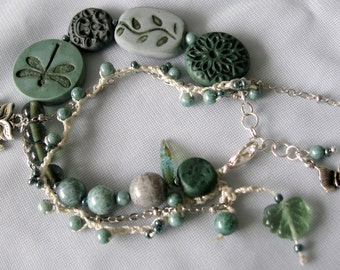 Bracelet in Sage