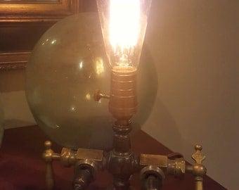 Vintage Faucet Lamp