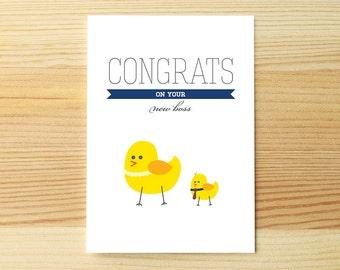 Congrats Baby Boss Chick