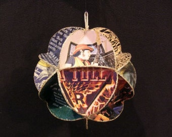 Jethro Tull Album Cover Ornament Made Of Record Jackets Ian Anderson