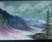 aceo art SFA painting watercolour ref 230