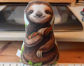 NEW Desktop Sloth Three Toed Baby Sloth Small Stuffed Toy