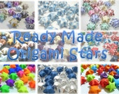 100 Ready made origami stars - Turn any papers strips into ready made stars