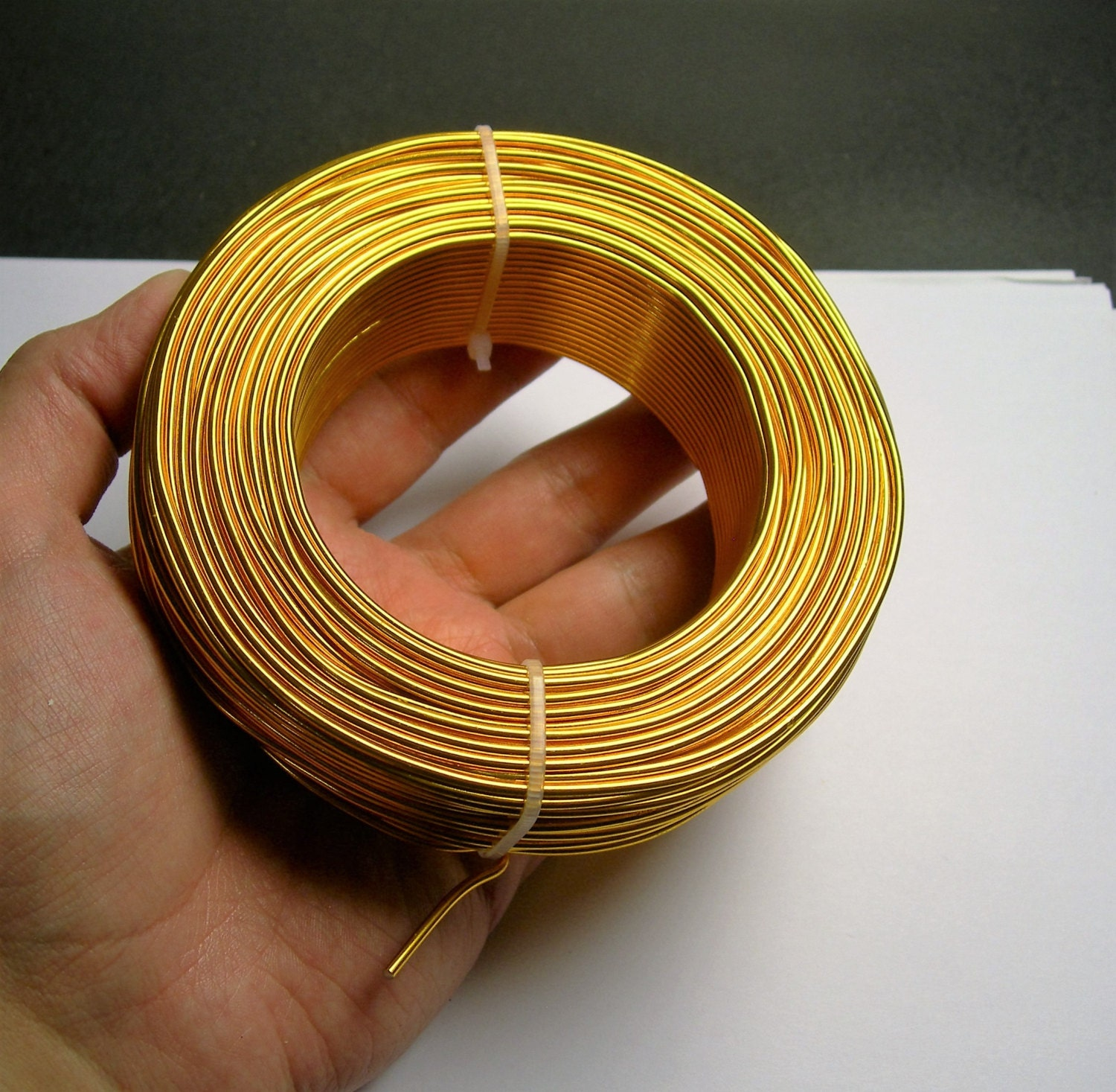 Aluminum Wire 12 Gauge 2mm 164 Foot Roll Good Quality Gold Copper Vs Wiring Color 50 Meters Alr3