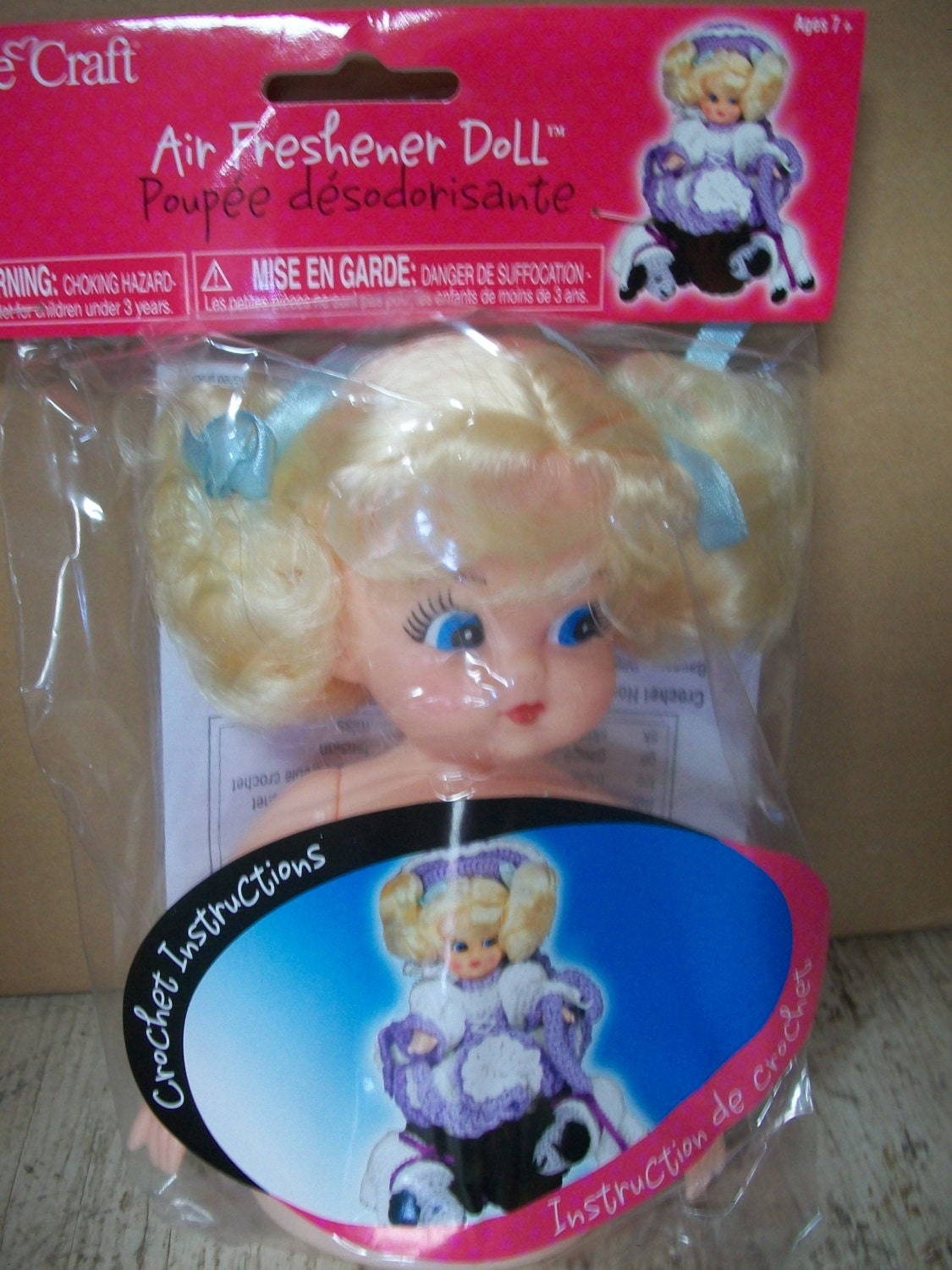 Fibre craft air freshener dolls - Packaged Fibrecraft Air Freshener Doll Sold By Mooglasmarket 3 6 00