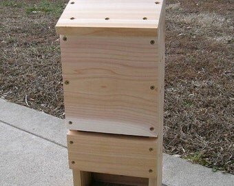 Three Chamber Western Red Cedar Bat House