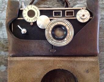 Vintage Argus Cintar Camera Leather Case