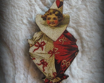 Little Clown Cherub Needle Minder with double magnet by cheswickcompany