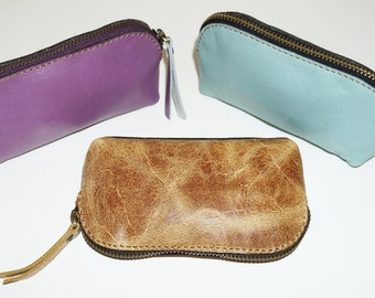 Genuine leather coin purse - LOT2