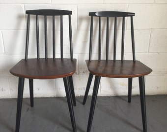 Pair of Mid Century Dining Chairs