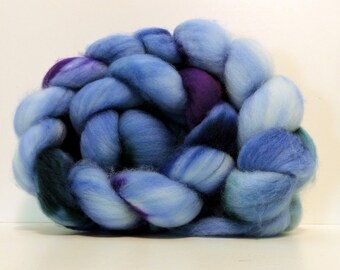 Handpainted SW Merino Top Spinning Fiber 4 oz