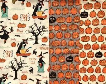 Witch Hazel 3 FQ set October Afternoon Riley Blake fabrics OOP HTF