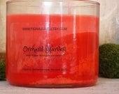 Orchard Harvest Apple Scented Triple Tilt Layer Vegan Soy Jar Candle 14 oz.