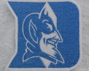 Duke Blue Devils Applique/Patch/Feltie/Iron on