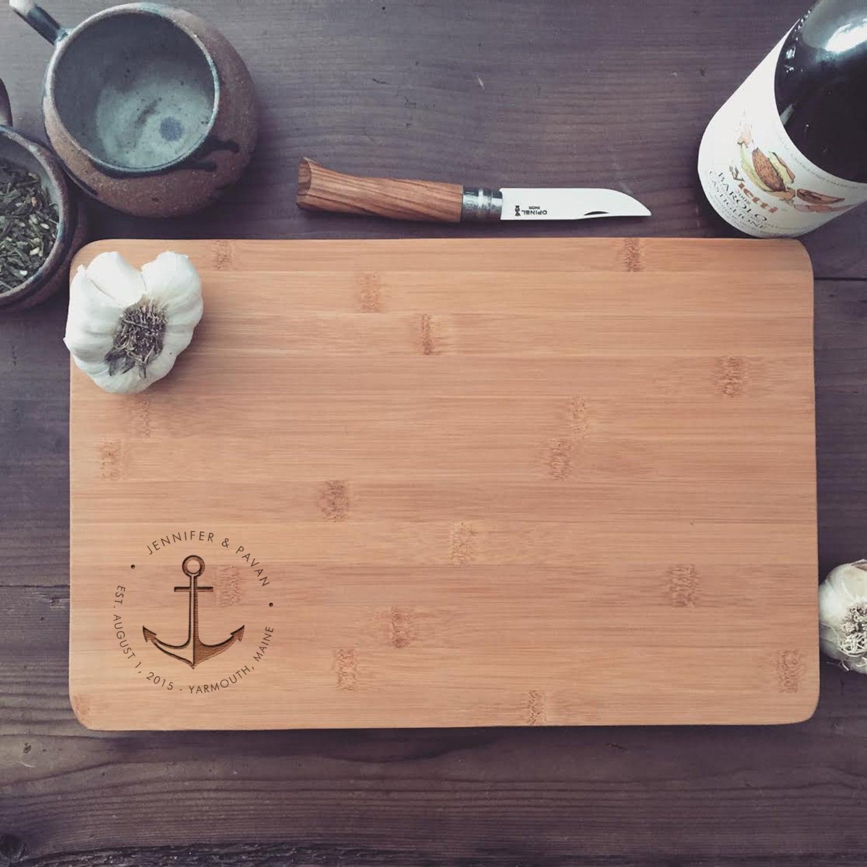Custom Engraved Cutting Board Personalized Cutting Board
