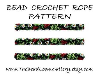 Bead Crochet Rope Pattern - Vol. 50 - Strawberry - PDF File
