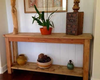 Handcrafted Console Table