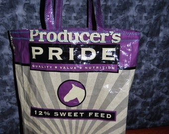 Feed Bag Tote - Producer's Pride Sweetfeed