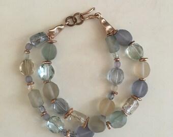 Double strand bracelet