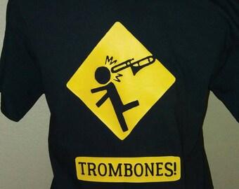Trombone band t shirt