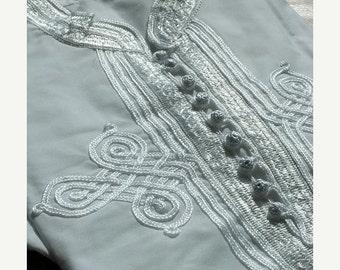 Summer Kaftan Sale Men's Marrakech White Shirt Kaftan