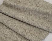 Cotton Linen Table Runner, Handmade Woven Table Runner, Wedding Bridal Shower Gift, Natural