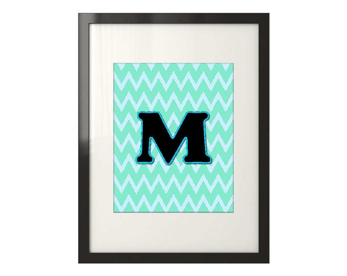 Framed Monogram Print