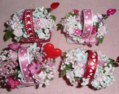 Miniature Valentine's Day Flower Basket Party Favor - Valentine' s Day Decoration