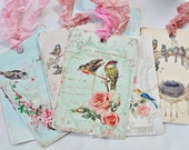 Vintage Shabby Chic gift tags