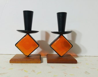 Bo-Svensk Swedish Candle Holder Mod Modern Home Decor