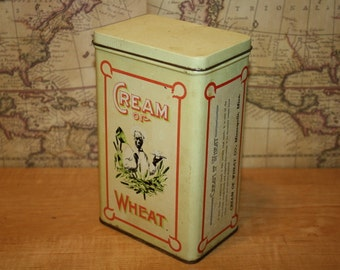 Vintage 1984 Cream of Wheat Tin - item #1401