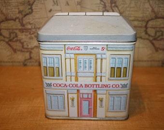 Vintage 1993 Coca-Cola Tin - item #1420