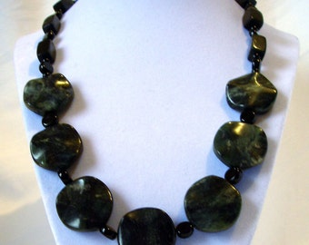 Chunky Jasper Necklace