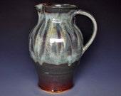 Green Mountain Ceramic Pitcher Pottery Stoneware Ice Tea Pitcher E