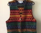 Vintage Eagle River Traders Vest Southwest Fashion Outerwear