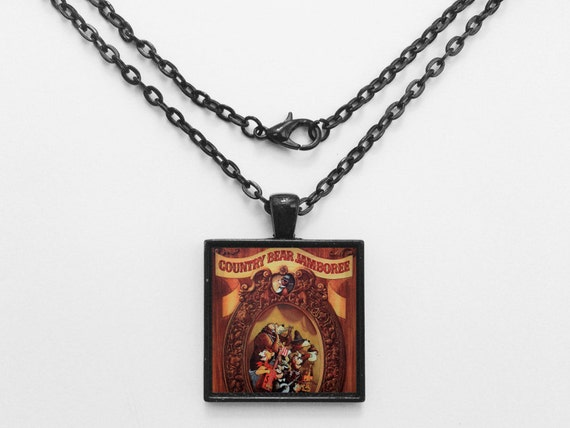 Country Bear Jamboree Classic Poster Necklace