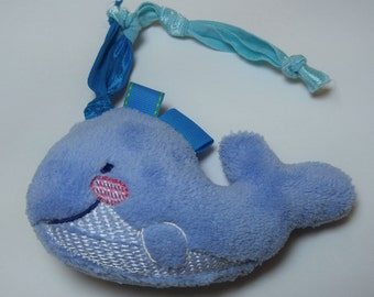 Whale Stuffed Taggie Teether - Free Shipping