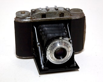 "Vintage Ansco Speedex Special ""R"" 120 Film Folding Camera Apotar 1:/4.5 85"