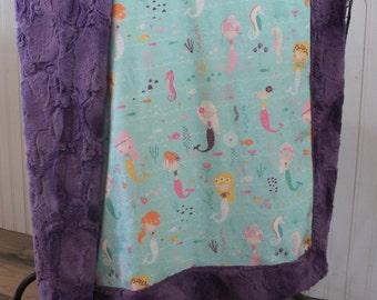 Baby Blanket, Minky baby blanket, Baby blanket minky, baby girl blanket 30 x 38