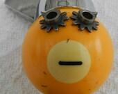 Soda Jerk- Junk Art Assemblage-Found Object Robot-Folk Art