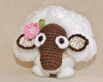 PDF Crochet Pattern for Cecily the Sheep