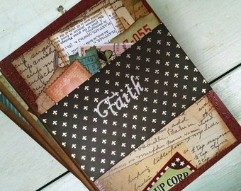 Faith Prayer Journal Sketchbook Art Journal