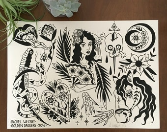 Rachel Welsby - 10 x 14 -  Flash Sheet - Edition of 10