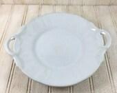 Vintage Ironstone Handled Plate